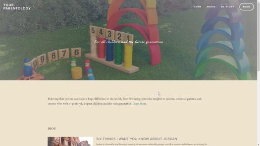 Your Parentology Screenshot