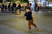 Titus playing at Abdali Boulevard