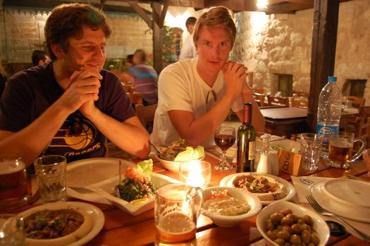 Table at Haret Jdudna