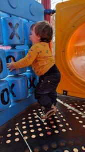 Titus at Playground