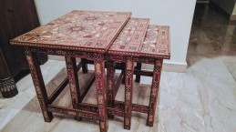 Syrian Mosaic Table Set