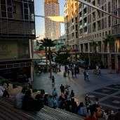 Sunset at Abdali Boulevard