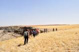 Hiking near Wadi Mujib
