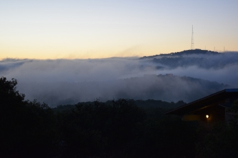 Sunrise at Ajloun Forest Reserve