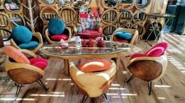 Thai Mango Furniture at Tal Alrumman Restaurant