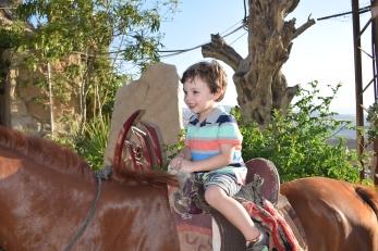 Titus on Horse
