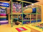 at LEGO Playhouse - Slide