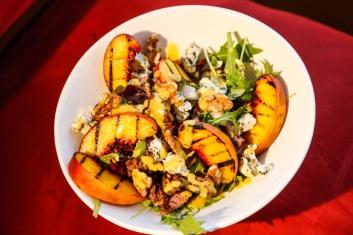 Peach Walnut Salad