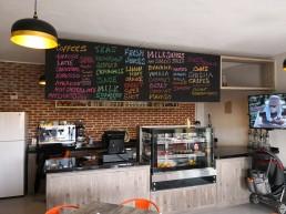 Cafe and Menu