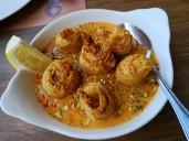 Shrimp Kunafeh