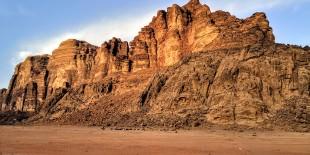 Getting into Wadi Rum