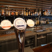 Petra Beer on tap