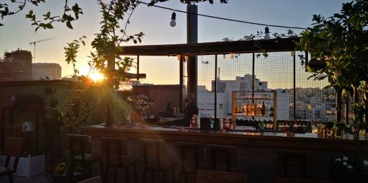 HIGH MESH - Garden Rooftop - Sunset