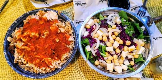 Shawerma Zarb - Abu Arab Chicken and Salad
