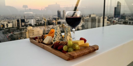 U Roof Lounge - Cheese Platter & Wine