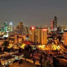 U Roof Lounge - Night View