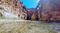Wadi Mujib - Starting area