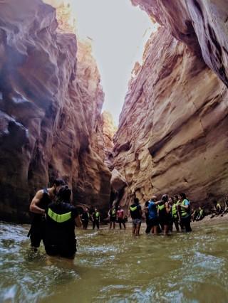 Wadi Mujib - People