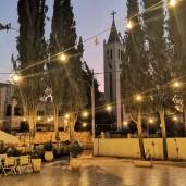 Jordan Heritage Restaurant - Courtyard at Night