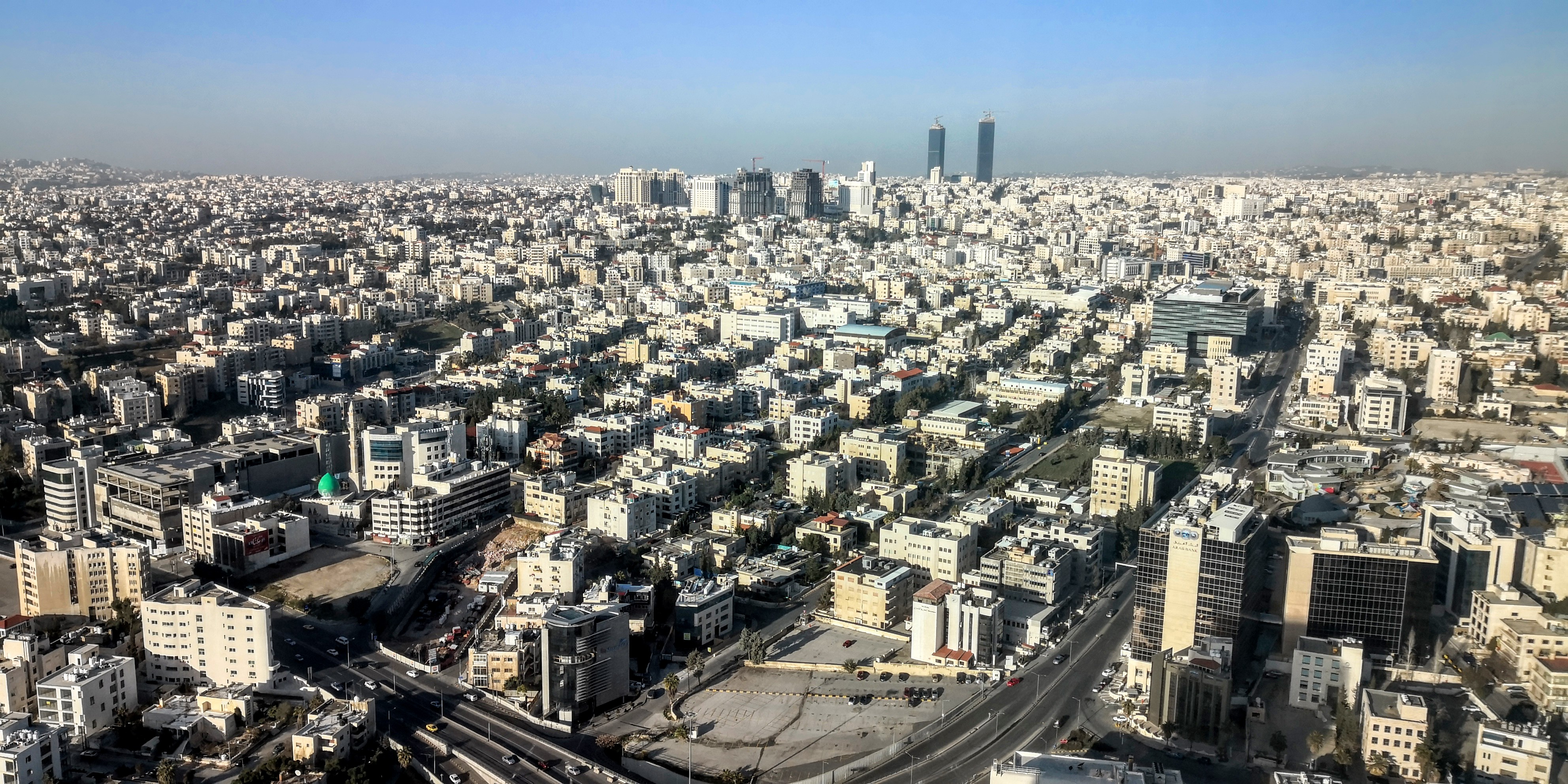Amman Rotana - View from the room
